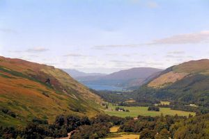 Loch Broom from Viewpoint near Braemore Junction
